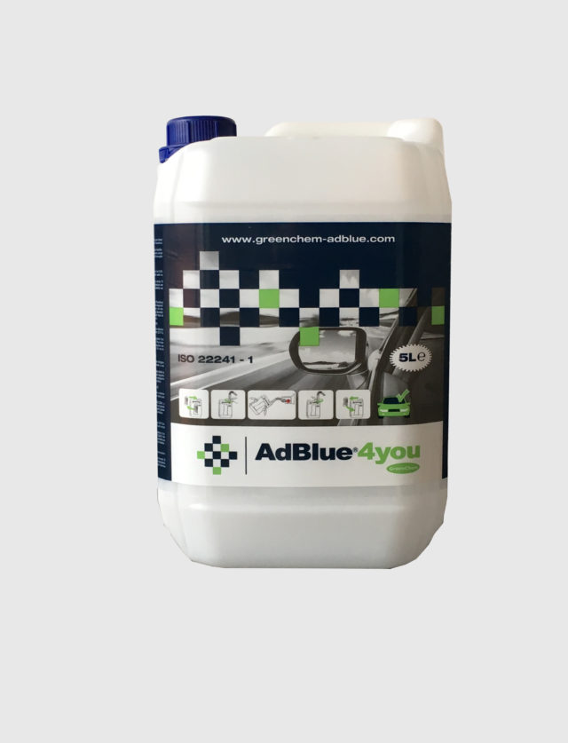 5l Canister of AdBlue by GreenChem AdBlue4you